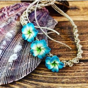 Adorable beach anklet or bracelet,Flower anklet